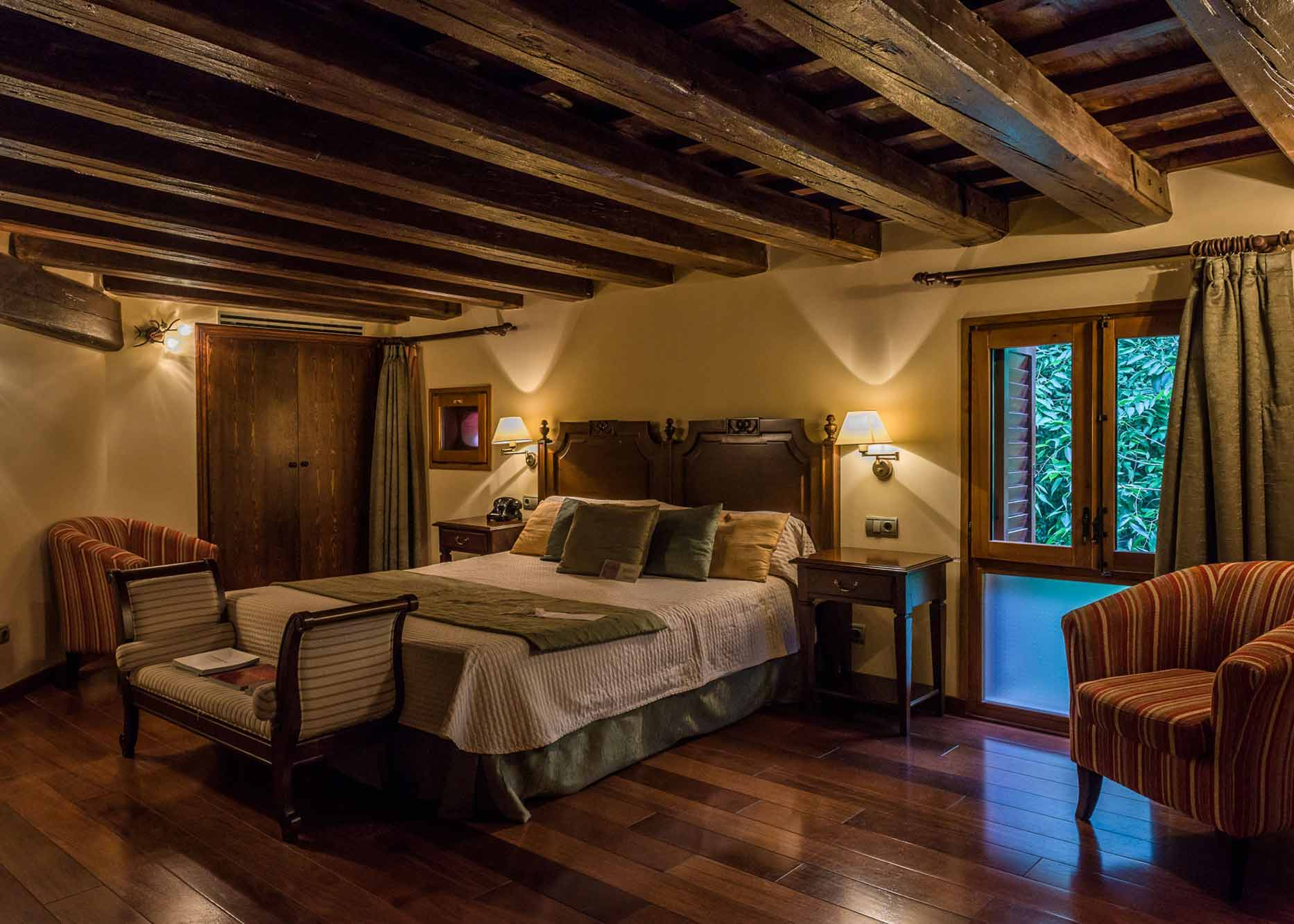 Hotel Villa Retiro 5 estrellas stars etoiles luxury luxe habitación doble double room