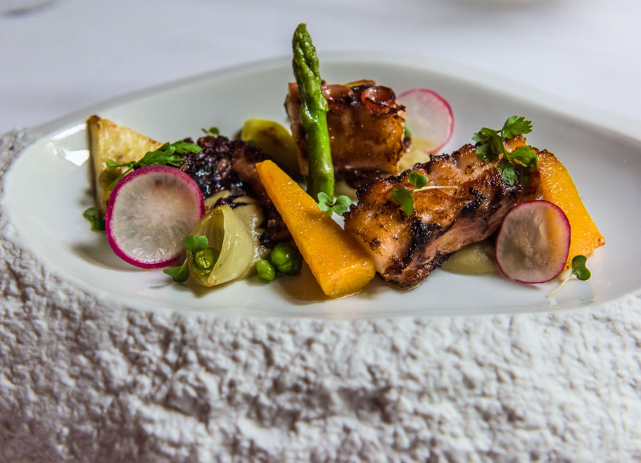 hotel-villa-retiro-restaurante-estrella-michelin-Xerta-Ebre-menu-degustacion-carne