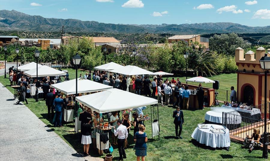 Hotel Villa Retiro restaurante celebración bodas eventos exterior Ebre Xerta