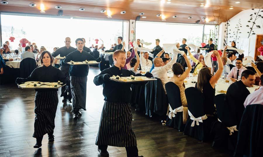 Hotel Villa Retiro restaurante eventos bodas Terres de l'Ebre Xerta banquete nupcial