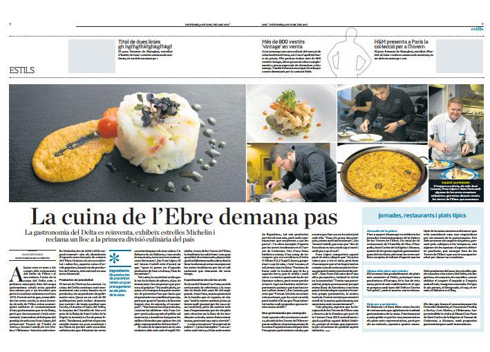 restaurante villa retiro estrella michelin la cuina de l'ebre demana pas
