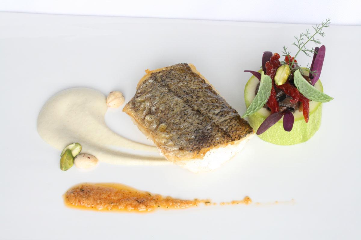 Restaurant Villa Retiro chef Fran López cocina de autor Ebre pescado
