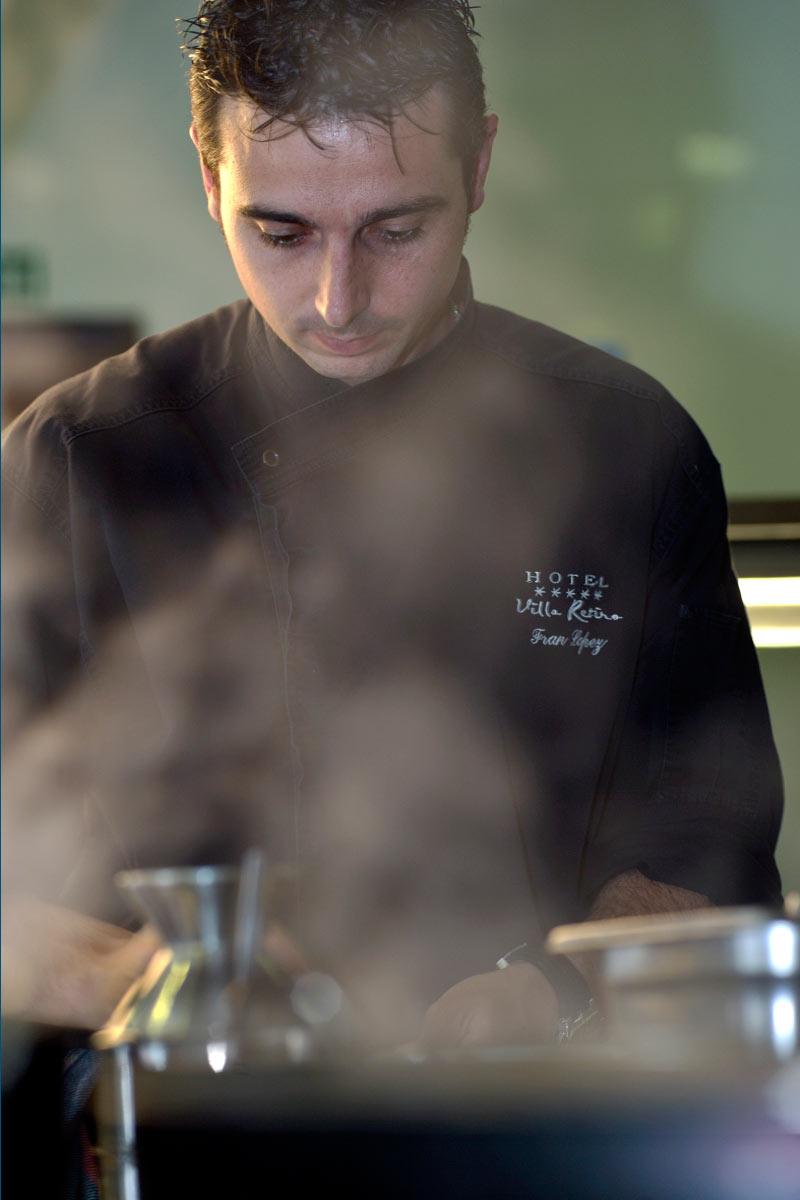 Restaurant Villa Retiro cocina cuina chef Fran López Estrella Michelin Terres de l'Ebre Xerta