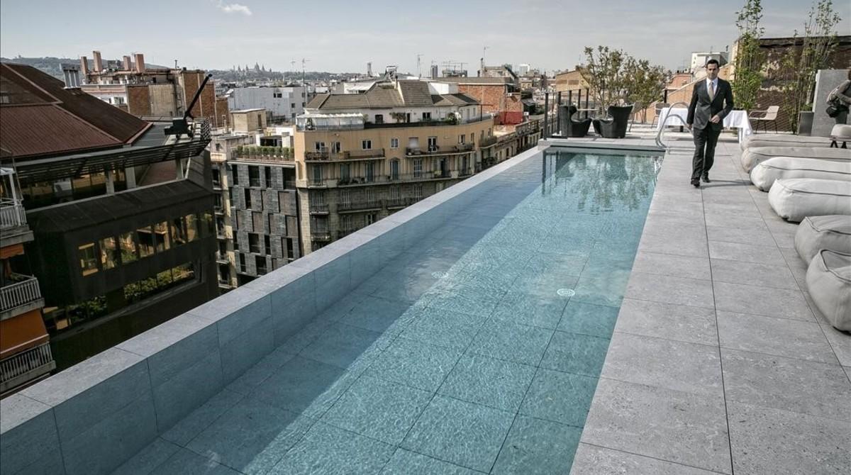 BARCELONA 2016  04 26  El nuevo Ohla hotel  en Corsega  289-291  entre la calle Balmes y Rambla de Catalunya  Fotografia de JOAN CORTADELLAS