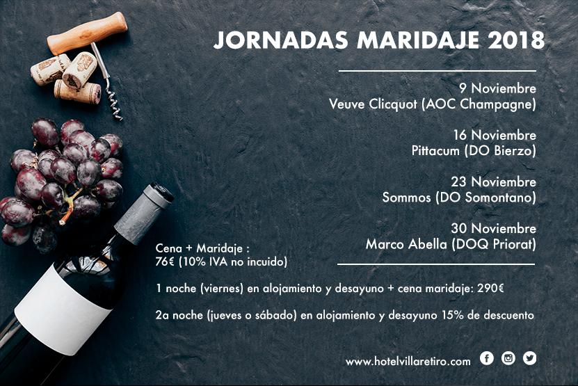 JORNADAS MARIDAJE 2018 hotel villa retiro